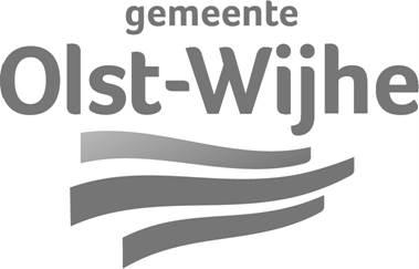Logo Olst Wijhe zwart wit